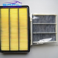 Set Filters For Mitsubishi Pajero V73 V77 V93 V97 Air Filter Cabin Air Filter S870 1