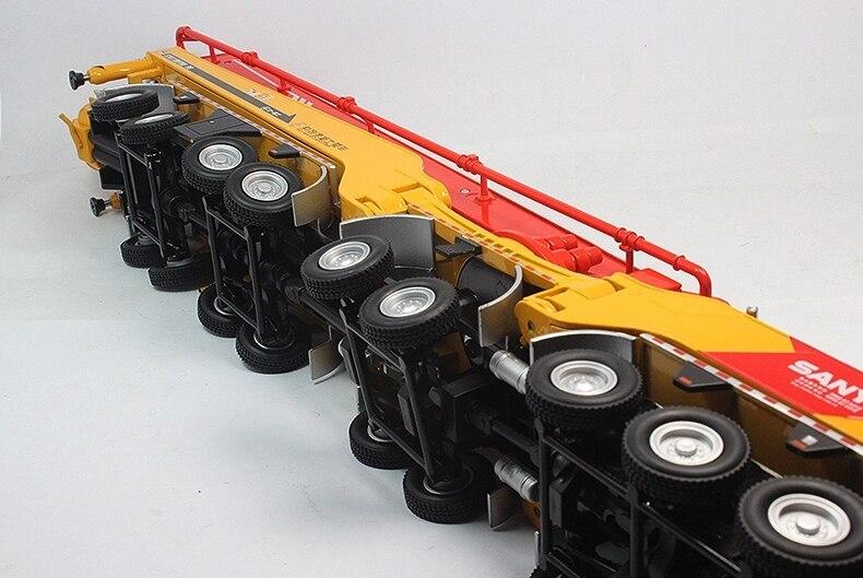 1:50 SANY HB86 juguete de bomba de cemento para camión-in Troquelado y vehículos de juguete from Juguetes y pasatiempos    2