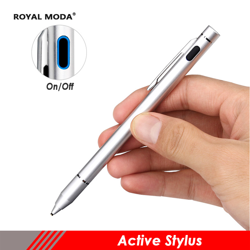 Stylet tactile capacitif actif boligrafo tactil stylet tactile pour apple crayon ipad stylo tactile