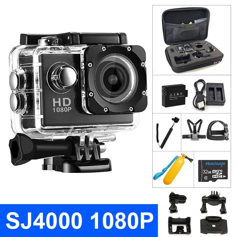 Sport-Camera SJ4000 Motion Go-Extreme-Pro Waterproof 1080P Original Screen 30m HD Record