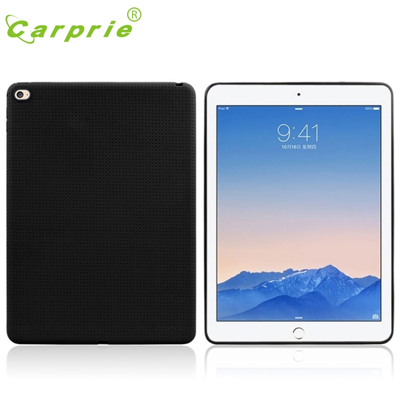 CARPRIE Case Cover Skin For iPad Air 2 iPad 6 New Ultra thin TPU Soft Protect Tablet Case BK Feb10 MotherLander