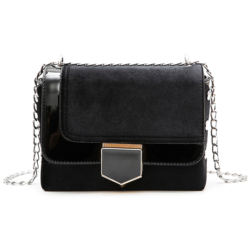 Small bag female 2018 new tide Korean version of the wild handbag Messenger bag chain bag personalized retro shoulder small squa