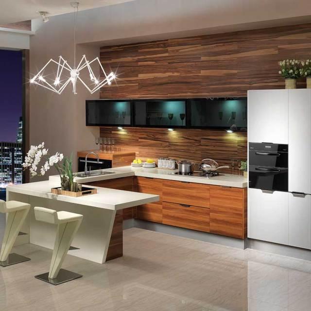 MDF Quarz Stein moderne Küchenschränke Guangzhou Großhandel export ...