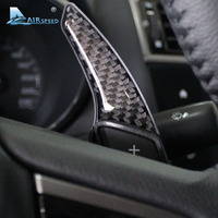 Airspeed Carbon Fiber Gear Shift Paddles Cover Car Accessories for Subaru Forester XV Impreza Outback Legacy BRZ WRX Car styling