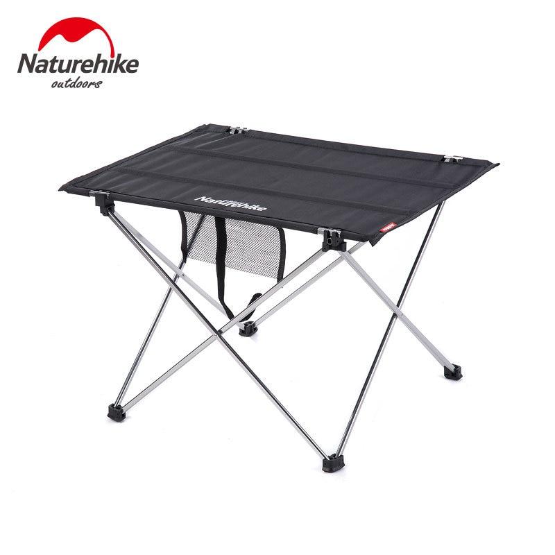 naturehike acampamento mesa de piquenique portatil mesa de praia cozinhar dobravel mesa de jantar ultraleve compacto