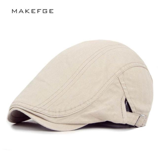 Boinas Retro gorras de mujer gorros de espiga para hombre boinas planas  sólidas gorras de exterior ce6f529f0c9