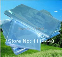 18 x 30 cm PVC Heat Shrinkable Bags Film Wrap Cosmetic Packaging Wrap Materials 500 pcs