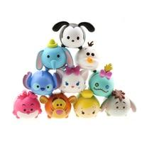 Tsum Tsum 10Pcs Lot 3 8CM Tsum Doll Donald Mickey Winnie Duck Toys Cute Elf Doll
