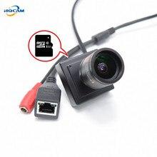 HQCAM TF card camera 2.8-12mm manual zoom lens CAMHI 720P Mini IP Camera Home Security Camera IP kamera Indoor CCTV Camera