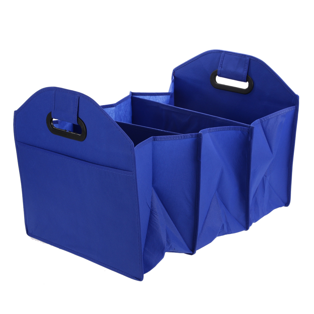 Folding Collapsible Sturdy&robust Car Storage Box Car Organiser Shopping Tidy Collapsibl ...