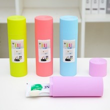 BF040 Fashion Travel portable toothbrush box  contracted and brush storage 20*6cm free shipping