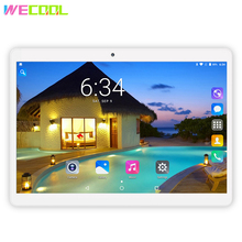 Android 7.0 WeCool M10 3G Phone Call Tablet PC 10 inch IPS 1280×800 Resolution Quad Core Dual SIM Slots Phablet 4 Colors