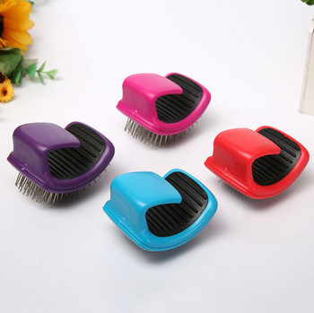usd2.3/pc  Pet dog puppy cat kitten combs curve plastic 20pcs/lot