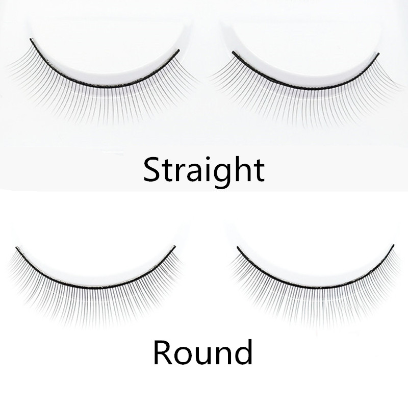 5/10pairs/set Handmade Training Lashes False Eyelashes For Beginners Teaching Lashes Eye Extension Tools Practice Keep You Fit All The Time False Eyelashes