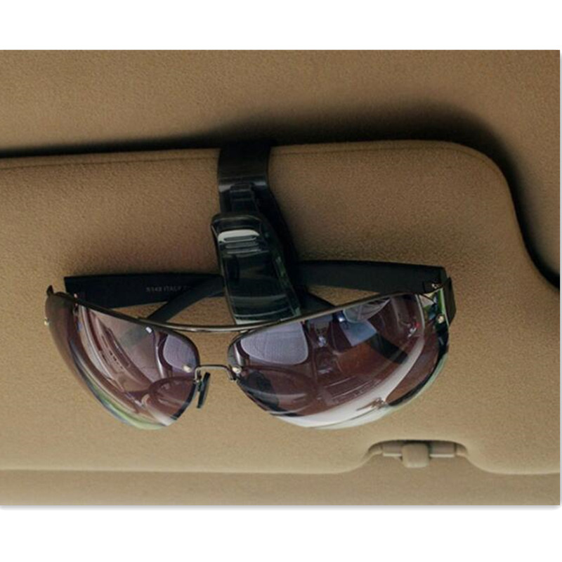 Hot Sale Car Sun Visor glasses Holder Ticket Clip FOR Mitsubishi ASX Lancer 10 9 Outlander Pajero For <font><b>Suzuki</b></font> Swift Grand Vi image