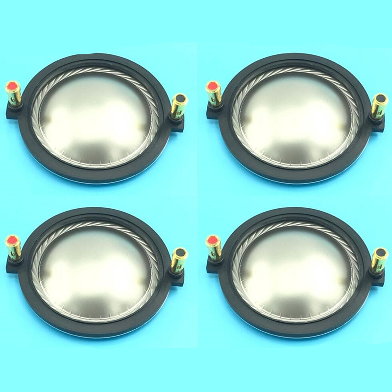 4pcs lot Replacement diaphragm for 74 46 mm Diaphragm for B C DE800 aluminium voice coil