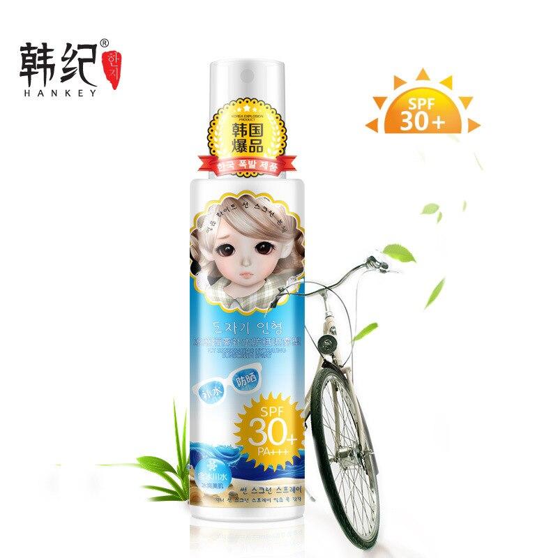 ФОТО 2017 Hankey Isolation Sunscreen Spray Spf30 Pa+++ Anti Uv For Sun Cream Unisex Skin Care Oil Control Available Body
