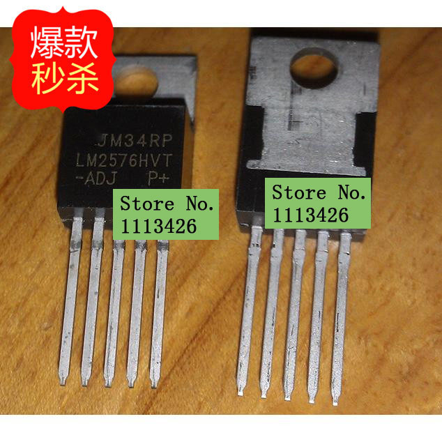10pcs Dc Dc Switching Regulators Lm2576hvt-adj Lm2576 To220 Back To Search Resultsconsumer Electronics
