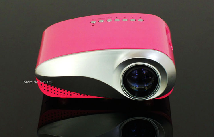 mini projector red pic 2