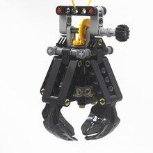 Yapı taşları MOC teknİk parçaları teknik 4 kaldırma pençeleri lego ile uyumlu