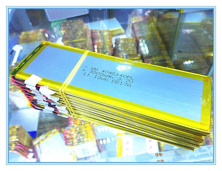 La batería de la tableta 4045140 3.7 V batería de polímero de - Accesorios para tablets - foto 2