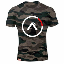 Army Green Camo T Shirts Men  Compression Shirt Short Sleeve GYMS T-Shirts MMA Rashguard Fitness Tshirt Brand Tees Tight