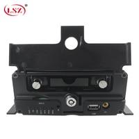 LSZ fabrikant groothandel 8 channel hard disk mdvr ahd1080P 4g gps remote video monitoring en positionering systeem ondersteunt wifi-in Bewakingsvideorecorder van Veiligheid en bescherming op