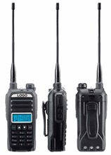 2PCs KEWOD TH-F9 8W High Power Dual Band Two Way Radio with 3000mAh battery & Car Charger UHF VHF Long range Walkie Talkie
