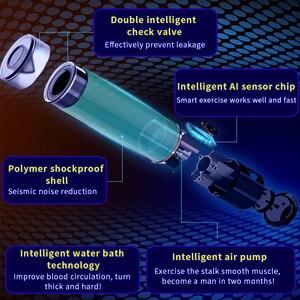 Image 3 - 充電式水浴電動ペニスポンプ真空援助インポテンスヘルパー勃起自動エクステンダー陰茎の拡大ポンプ