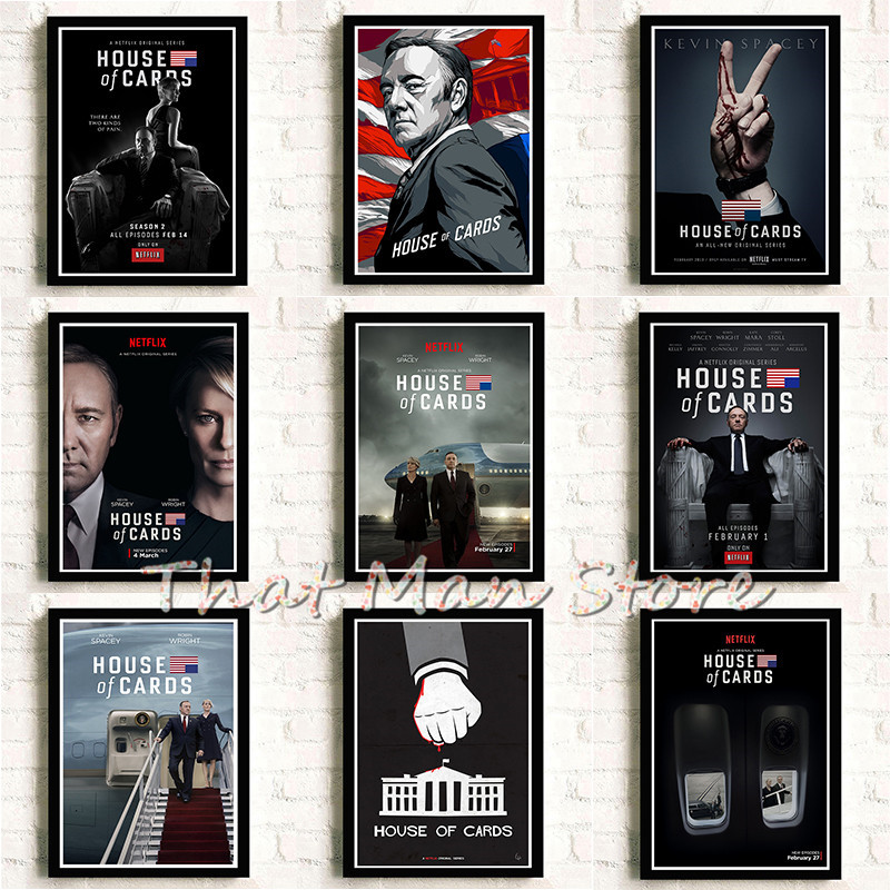 House Of Cards Painting Quality Hd Reying Movie Home Decor Art Decor