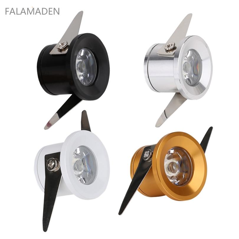 (4pcs/lot) 1W Or 3W LED Spotlight, Mini Indoor Lighting