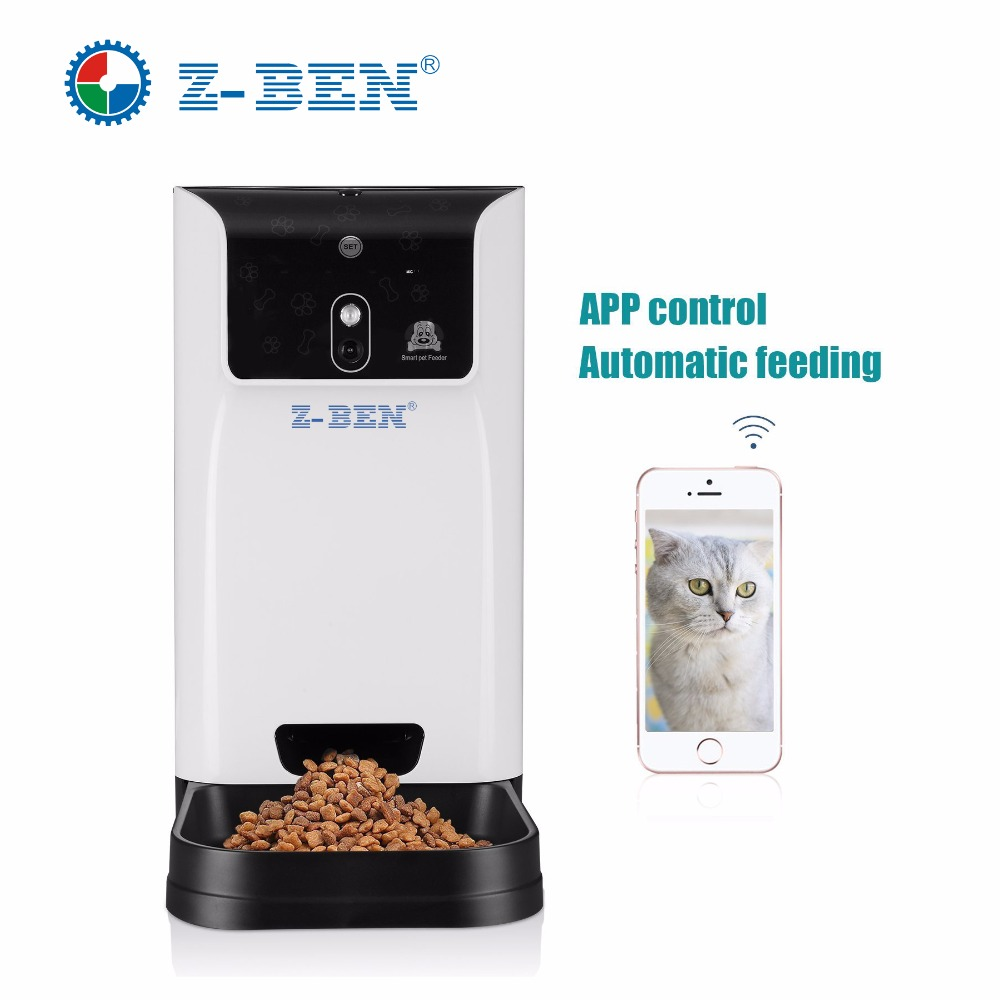 Zben Smart Pet Feeder Camera,HD 1.3MP Smart pet feeder Camera,video pet feeder yamaha pneumatic cl 16mm feeder kw1 m3200 10x feeder for smt chip mounter pick and place machine spare parts