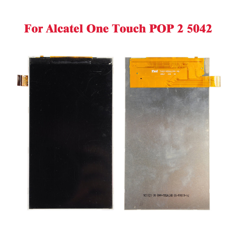 LCD Display For Alcatel One Touch POP 2 OT5042 5042 5042D Screen Digitizer Glass Sensor Panel Repartment