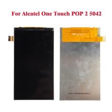 ЖК-Дисплей Для Alcatel One Touch POP 2 OT5042 5042 5042D Экран Digitizer Стекло Сенсорная Панель Repartment