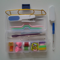 Weaving Tools Auxiliary Products Small Buckle Crochet Dress Sweater Knitting Needle Other Accessories F Plastic Free