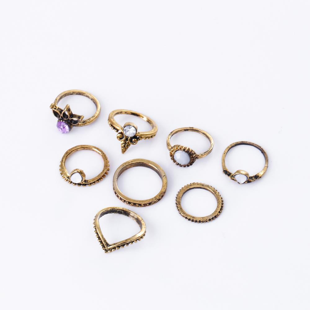 HTB11kFjRXXXXXXpXVXXq6xXFXXXc 8-Pieces Bohemian Vintage Retro Lucky Stackable Midi Ring Set For Women - 2 Colors