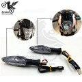Envío gratis accesorios profesionales LED KTM luz de intermitencia motocicleta señal de vuelta unviersal moto giro intermitentes indicadores