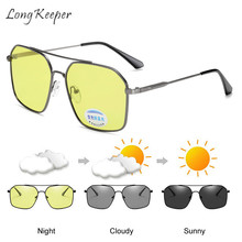 Long Keeper Sunglasses Women Men Night Vision Anti Blue