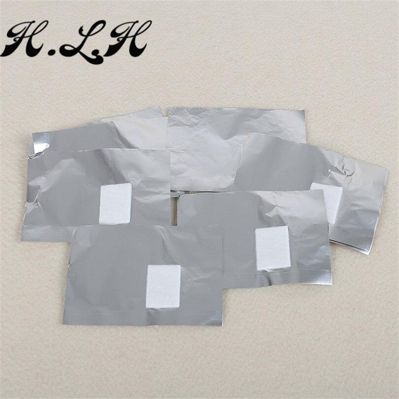 H.L.H 100 հատ / լաք եղունգների փայլաթիթեղի - Մանիկյուր - Լուսանկար 5
