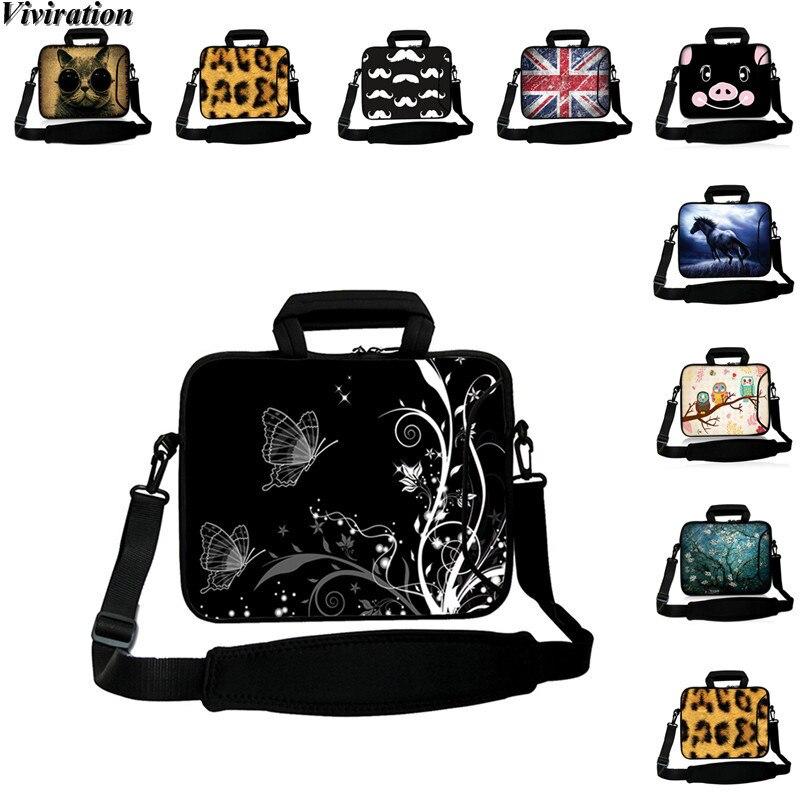 Women Portable Handbag Business Laptop Messenger Bag Viviration Tablet Cover Case 10.5 10.2 10.1 9.6 9.7 10 Shoulder Strap Bag
