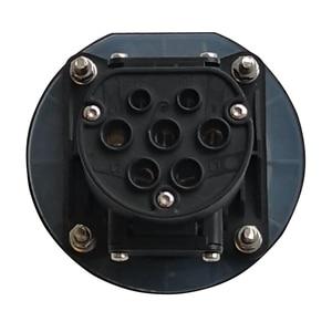 Image 3 - EVSE EV 16A 32A אספקת חשמל טעינת צד סוג 2 נקבה תקע שקע עבור חשמלי רכב רכב טעינת תחנת 4 נקודת תיקון