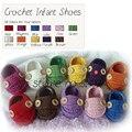 HappyFlute Bebê Sapatos, Sapatos de crochê Bebê, Sapatos Feitos à mão, Abetos Walker, bonito e Macio!