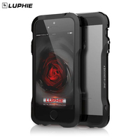 Luphie Metal Case For Iphone 5s Luxury Aluminum Bumper Cases Frame Funda Cover For Iphone 5
