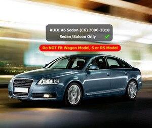 Image 5 - Guardabarros para coche, accesorios de guardabarros para AUDI A6, C6, 2006, 2007, 2008, 2009, 2010, SEDAN