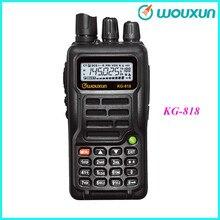WOUXUN Portable Radio Slim Walkie Talkie Hand Held Radio KG-818 136-174 MHz