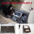 23 UNIDS Paneles Interiores de Color Estampado de Leopardo Decoración Cubiertas Para Toyota Land Cruiser Prado FJ150 2010-2016