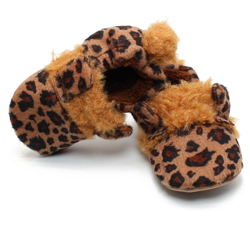 Baby Shoes First-Walkers Girls Boy Winter Fashion New Velvet Plus