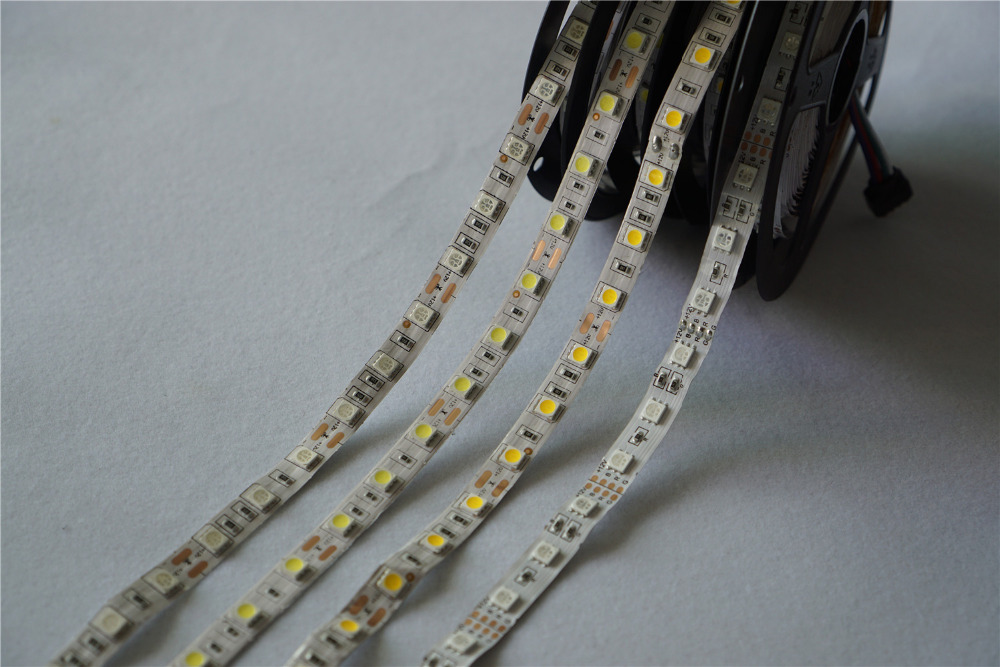 LED Strip 5050 DC12V Flexible LED Light 60 LED/m 5m/lot RGB 5050 LED Strip.5m/lot Notwaterproof Dimmer Controller