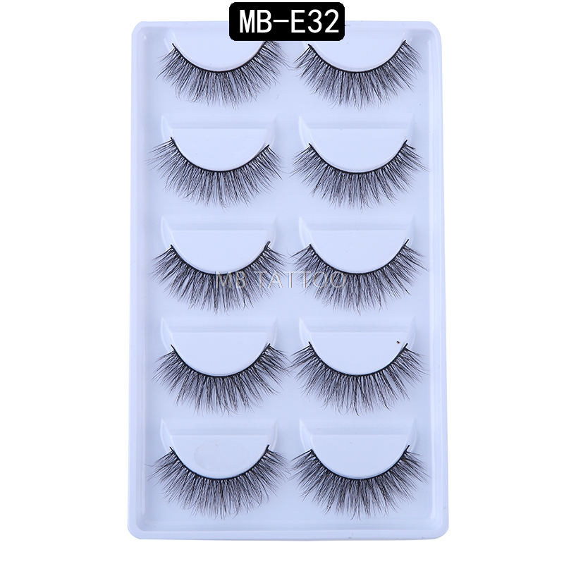 HTB11kIQQVYqK1RjSZLeq6zXppXam New 3D 5 Pairs Mink Eyelashes extension make up natural Long false eyelashes fake eye Lashes mink Makeup wholesale Lashes