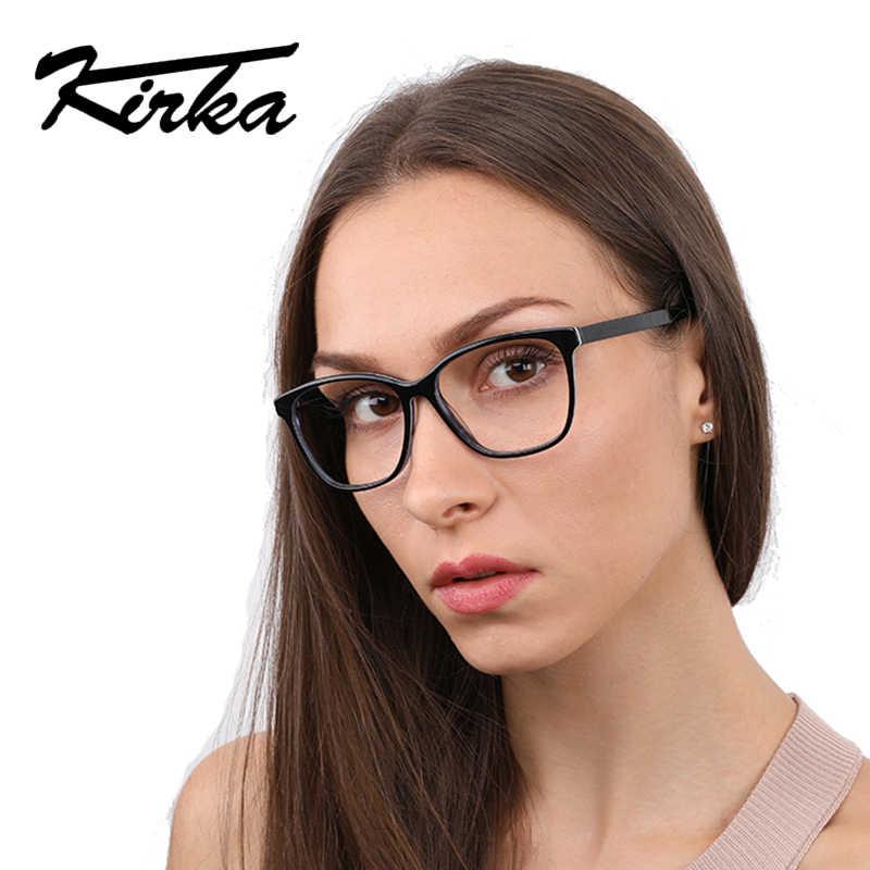 ced322672d Kirka Clear Lenses Computer Glasses Men Retro Eyewear Frames Male Vintage  Full Frame Vintage Gift Frame